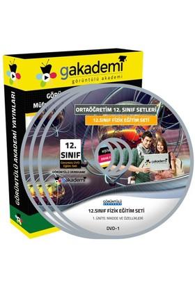 Görüntülü Akademi 12. Sınıf Fizik Görüntülü Eğitim Seti 5 Dvd