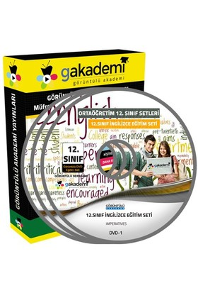 Görüntülü Akademi 12. Sınıf İngilizce Görüntülü Eğitim Seti 6 Dvd