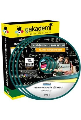 Görüntülü Akademi 12. Sınıf Matematik Görüntülü Eğitim Seti 5 Dvd