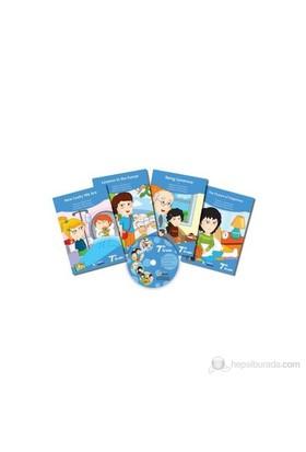 7. Sınıf İngilizce CD'li Kitaplar Serisi (4 Kitap+1 CD) - Zeyneb Alver