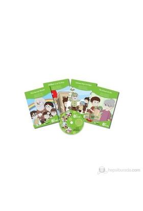 8. Sınıf İngilizce CD'li Kitaplar Serisi (4 Kitap+1 CD)