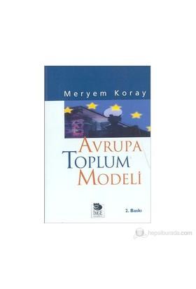 Avrupa Toplum Modeli-Meryem Koray