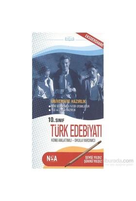 Nesa 10. Sınıf Türk Edebiyatı (cep boy)