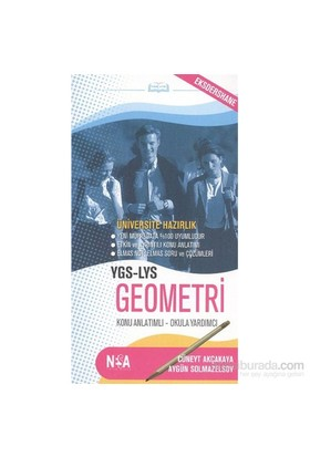 Nesa Ygs Lys Geometri (Cep Boy)-Cüneyt Akçakaya