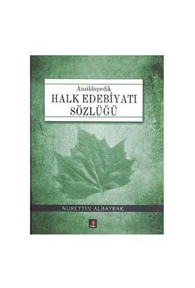 Halk Edebiyatı Sözlüğü