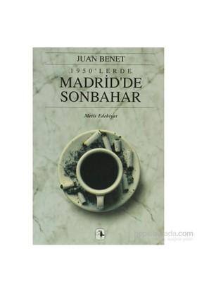 1950'Lerde Madrid'De Sonbahar-Juan Benet