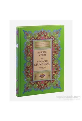 Kur'An-I Kerim Ve Satır Arası Kelime Meali Açıklamalı (Cami Boy)-Elmalılı Muhammed Hamdi Yazır