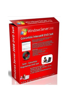 Windows Server 2008 Görüntülü İnteraktif Dvd Seti