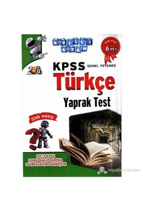 Akıllı Adam Kpss Genel Yetenek Türkçe Yaprak Test-Kolektif