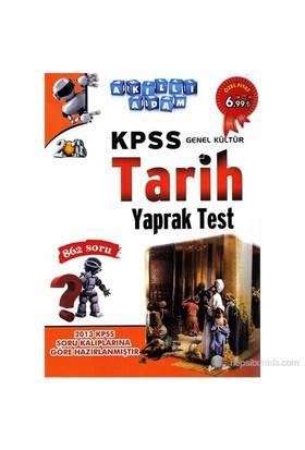 Akıllı Adam Kpss Genel Kültür Tarih Yaprak Test-Kolektif