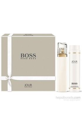 Hugo Boss Jour Edp 75 Ml Kadın Parfüm + 200 Ml Vücut Losyonu Set