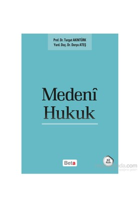 Medeni Hukuk - Derya Ateş Karaman