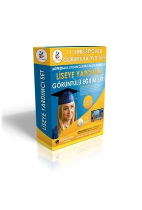 Lise 11. Sınıf Biyoloji Görüntülü Eğitim Seti 10 DVD + Rehberlik Kitabı Hediye