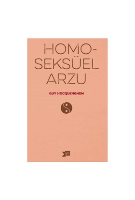 Homoseksüel Arzu-Guy Hocquenghem