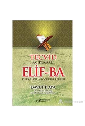 Tecvid Açıklamalı Elif-Ba - Dergi Boy (Kod: F036) (Kur'an-ı Kerim'i Öğrenme Rehberi)- Davut Kaya