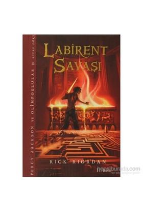 Percy Jackson - Labirent Savaşı (4.Kitap) - Rick Riordan
