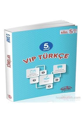 5. Sınıf VİP Türkçe Konu Anlatımlı - Esra Özkan