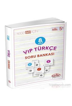 8. Sınıf VİP Türkçe Soru Bankası - Serkan Karabulut