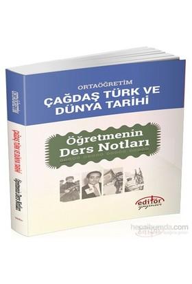 Ortaöğretim Çağdaş Türk Ve Dünya Tarihi Öğretmenin Ders Notları-Faruk Kara