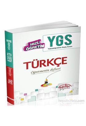 Hızlı Öğretim Ygs Türkçe Konu Anlatımlı-Kolektif