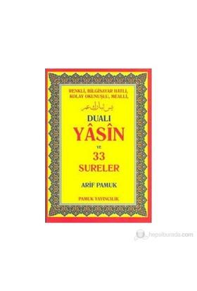 Dualı Yasin Ve 33 Sureler (Rahle Boy) (Yas-096)-Kolektif