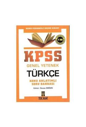 Tekağaç Kpss Genel Yetenek Türkçe Konu Anatımlı Soru Bankası 2010