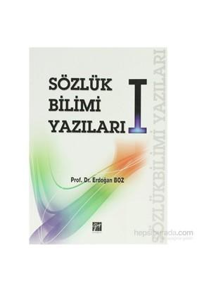 Sözlük Bilimi Yazıları 1-Erdoğan Boz
