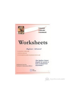 Worksheets Beginner - Advanced