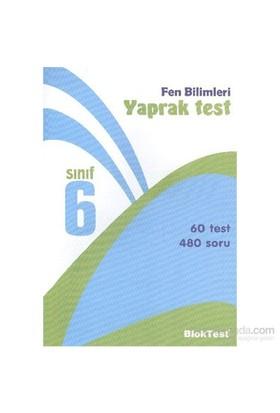 Bloktest 6. Sınıf Fen Ve Teknoloji Yaprak Test-Kolektif