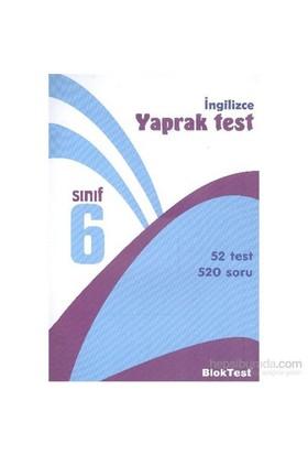 Bloktest 6. Sınıf İngilizce Yaprak Test-Kolektif