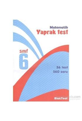 Bloktest 6. Sınıf Matematik Yaprak Test