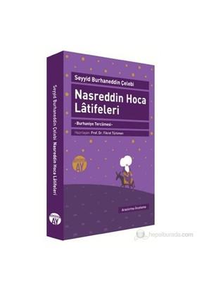 Nasreddin Hoca Latifeleri (Burhaniye Tercümesi)-Seyyid Burhaneddin Çelebi