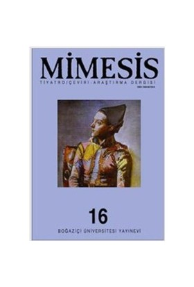 Mimesis Dergisi Sayı: 16 Richard Schechner