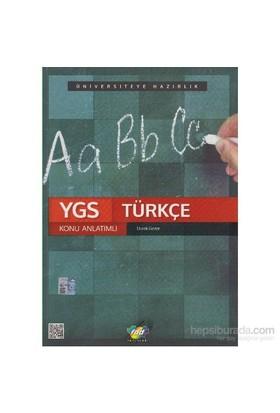 Fdd Ygs Türkçe Konu Anlatımlı - Durak Gezer