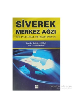 Siverek Merkez Ağzı-Erdoğan Boz