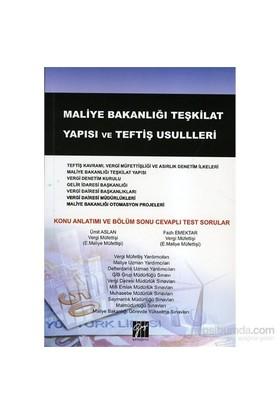 Maliye Bakanlığı Teşkilat Yapısı Ve Teftiş Usulleri-Fazlı Emektar