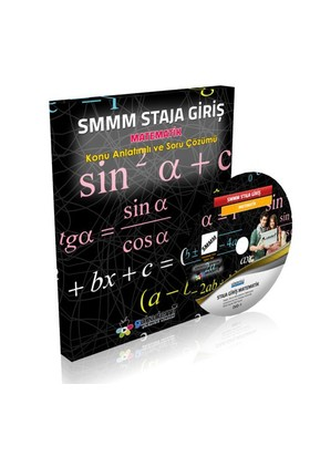 Görüntülü Akademi Smmm Staja Giriş Matematik Eğitim Seti 3 Dvd