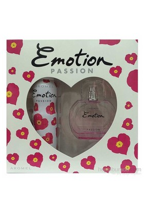 Emotion Passion Edt 50 Ml + Deodorant 150 Ml Kadın Parfüm Set