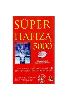 Süper Hafıza 5000 Kırmızı Kitap (Cd'li)