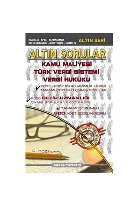 Altın Sorular - Kamu Maliyesi - Türk Vergi Sistemi - Vergi Hukuku