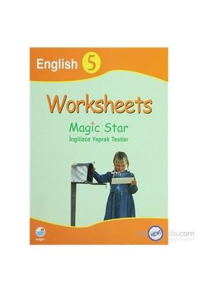 Worksheets Magic Star İngilizce Yaprak Testler English 5-Kolektif
