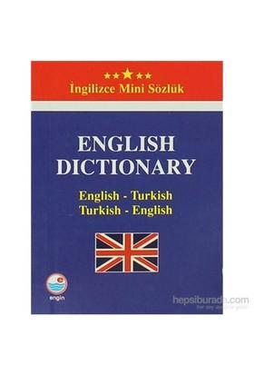 İngilizce Mini Sözlük (English-Turkish / Turkish-English)-Emine Seda Çağlayan