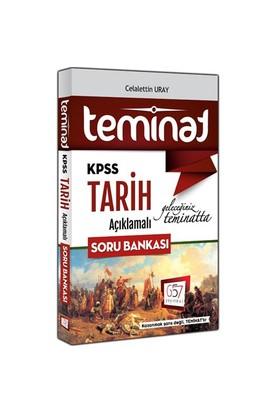 657 Yayınevi KPSS 2016 Teminat Tarih Açıklamalı Soru Bankası - Celalettin Uray