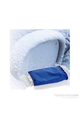 Schwer Araç Camı Buz Kırağı Kazıyıcı Mavi Eldiven