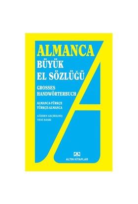 Almanca Büyük El Sözlüğü - (Almanca-Türkçe - Türkçe-Almanca) - Adem Güçer