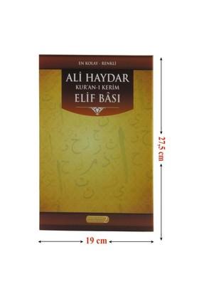 En Kolay Renkli Ali Haydar Kur'An-I Kerim Elifbası-Muharrem Bozkaya