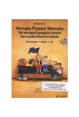 Avrupa Piyano Metodu Cd'Li 1.Kitap 1.Dil-Fritz Emonts
