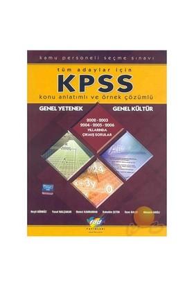 Fdd Kpss Genel Yetenek - Genel Kültür - Konu Anlatımlı