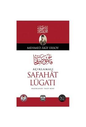 Açıklamalı Safahat Lügatı-Mehmed Akif Ersoy