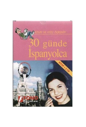 Fono 30 Günde İspanyolca (kitap + 2 Cd)